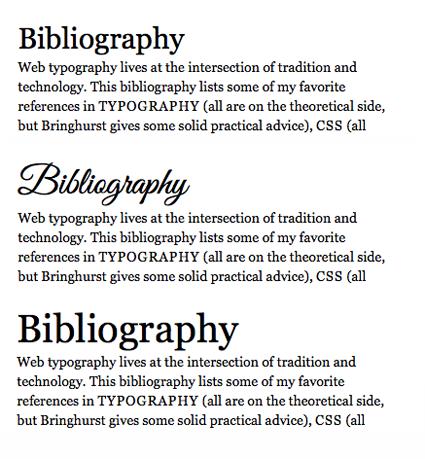 Testing the fallback font
